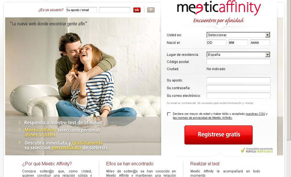 meetic affinity